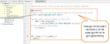 Text Document Python File Handling Create Open Append Read Write