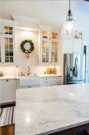 faux carrara marble countertops white ceramic subway tile imitation carrara marble countertops