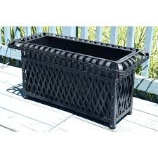 rectangular outdoor planters large uk oaks metal planter box