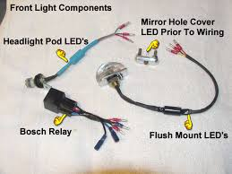 frlcomponents01big jpg Turn Signal Flasher Wiring replacing stock lights with led's will cause a 'fast flashing' problem with the turn signals the stock turn signal flasher is designed to flash rapidly turn signal flasher wiring diagram
