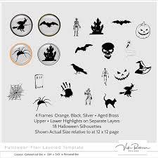 Flair Template Halloween Flair Templatel By Vicki Robinson Designs