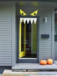 diy halloween decorations home. Halloween Door Decorations Diy Home