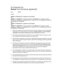 Nda Template Agreement General Nda Template Non Disclosure Agreement Basic Ecosolidario Co