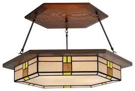craftsman style lighting vintage craftsman chandelier 459