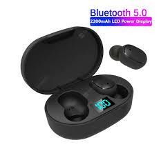 A6S <b>new</b> upgrade E6S digital display 3D stereo mini <b>Bluetooth</b> 5.0 ...