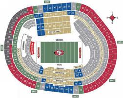 49ers Stadium Seating Map