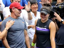 Andreescu's coach, sylvain bruneau, said her style of play contributed to muguruza's frustration. Former Us Open Champ Andreescu Splits With Coach Thescore Com