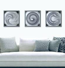 zen wall art string set office abstract sacred geometry