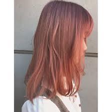 スモーキーピンクアッシュ Monotypeモノタイプのヘアスタイル 美容