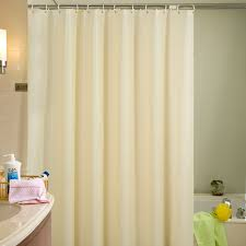 curtain mesmerizing plastic shower curtains 16 beige eco friendly waterproof mold proof solid peva bathroom with