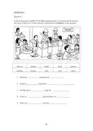Upsr english paper 2 - section 1 - worksheets for weaker pupils