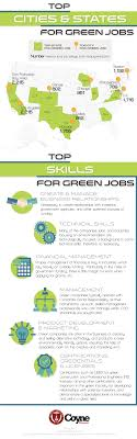 in demand green collar jobs coyne college top cities and states for green jobs
