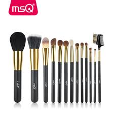 Aliexpress.com : Buy MSQ 13pcs Makeup Brushes Set Powder Foundation Pro  Face Make Up Brush Eye Shadow Eye Brow Lip Cosmetics Brushes Kit Soft Hair  from ...