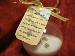 footprints in the sand ornament gift idea for my sunday cl
