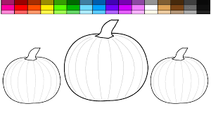 Small Picture Learn Colors for Kids and Color Halloween Pumpkin Coloring Pages