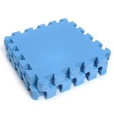 9pcs interlocking eva foam exercise floor mats gym