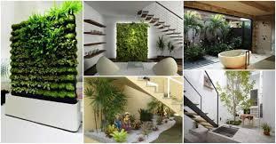 indoor gardening ideas. Strikingly Beautiful Indoor Garden Creative Ideas CreativeDesign Tips Gardening