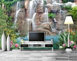 Beibehang Hd Landschap Water Rijkdom 3d Behang Muurschildering Sofa