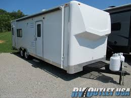 2016 forest river work and play 25ul used toy hauler