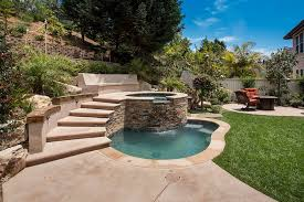Backyard Pool Designs Landscaping Pools Inspiration Outdoors Beautiful Backyard Decor With Small Pool And Round