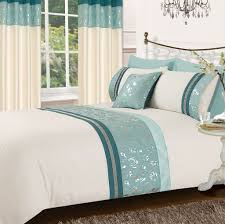 teal cream colour teal bedding uk on bed and breakfast