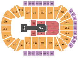 Resch Center Seating Chart With Seat Numbers Wwe Live Tickets Thu Dec 12 2019 7 30 Pm At Resch Center