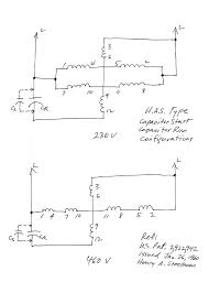 wiring diagram for a single phase motor 230 v readingrat net motor wiring diagram 3 phase at Motor Generator Wiring Diagram