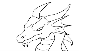 Coloring Pages How To Draw A Dragonstep By Step Easy Youtube
