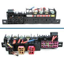used genuine vw golf relay board holder fuse box 8l0 941 822 vw golf relay board holder fuse box£9 99