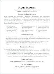 Resume Skills And Abilities Resume Skill And Abilities Examples