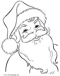 Small Picture Free Printables Santa And Christmas Themed Coloring Pages Coloring