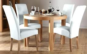 round dining table sets top for 4 on chairs set seater oak