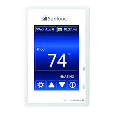 suntouch floor warming sunstat command programmable floor heating thermostat