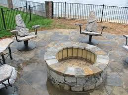 photograph of outdoor stone fire pit unique stone outdoor fire pit how to build a fire