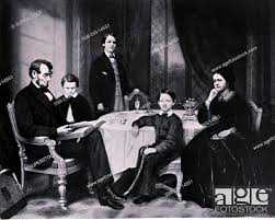 Abraham Lincoln's Family Francis Bicknell Carpenter (1830-1900 American),  Stock Photo, Picture And Rights Managed Image. Pic. SSB-255-14551    agefotostock