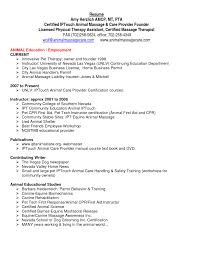 Physical Therapist Resume Template Occupational Therapy Student S