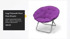 an overview of the best saucer chairs around