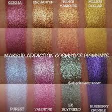 angela tanner angelamarytanner makeup addiction cosmetics pigments 6 oh how i loooove these makeupaddiction
