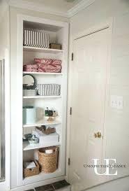 built in shelves shelving for my bathroom closet plans