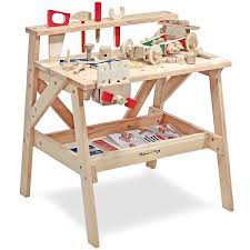 kid s workbench wooden project workbench melissa and doug