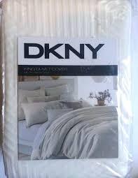 duvet cover metro king size bed ivory bedding comforter new sketch dkny set wallflower pure inspiration