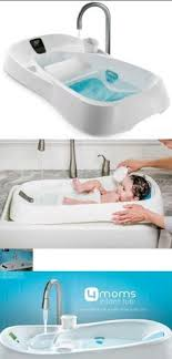 New Updated Modern Design Baby Infant Bathtub With Side Drains And ...