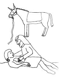 Good Samaritan Coloring Pages Good Coloring Pages Bible Story