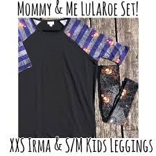 Mommy Me Lularoe Irma Kid Leggings Halloween Boutique