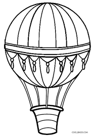 hot air balloon coloring page. Unique Page Printable Hot Air Balloon Coloring Pages For Kids  Cool2bKids Throughout Page Pinterest