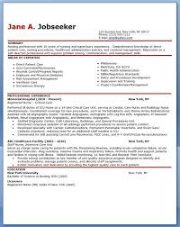 experienced nurse resume sample downloads examples nursing and medical  templates