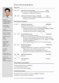 Contemporary Curriculum Vitae Template Doc Download Ensign