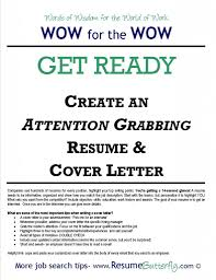 Copy Paste Resume Into Email Sample Create Attention Grabbing