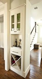 Built In Mini Bar Around The Corner In 2019 Bars For Home