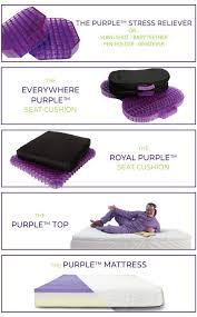 purple mattress. Purple Indiegogo Marketing Image Mattress